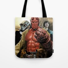 Power In Three Tote Bag