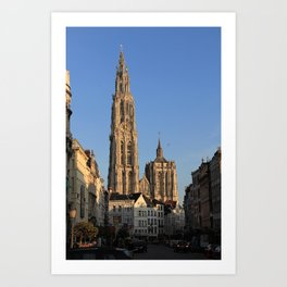 Our Lady Cathedral - Antwerp Art Print