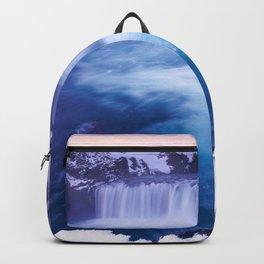 Godafoss Waterfall Reykjavik Iceland Ultra HD Backpack