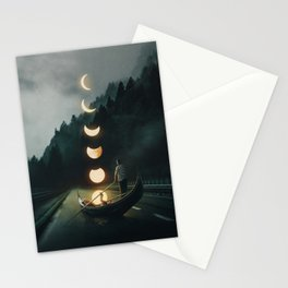 Moon Ride Stationery Cards