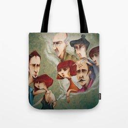 Mi Familia vs Mi Pareja Tote Bag