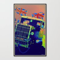 truck Canvas Prints featuring Truck by elkart51