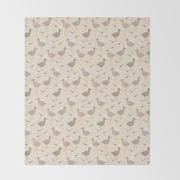South Carolina shorebirds Throw Blanket