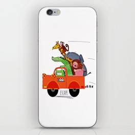 Escape from the Zoo! iPhone Skin