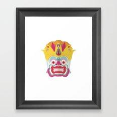Boo ! Framed Art Print