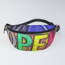 Psychedelic Open Sign Fanny Pack