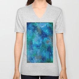 Blue Clouds Unisex V-Neck