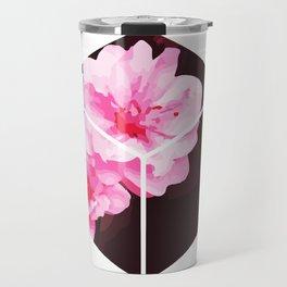 Peach Blossom Hoa Dao Tet Vietnam Travel Mug