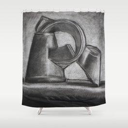 Empty Drink Shower Curtain
