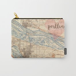 Love Portland OR Carry-All Pouch