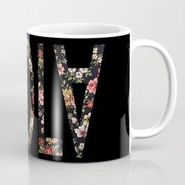 Floral Ebola Coffee Mug