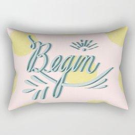 Begin Rectangular Pillow