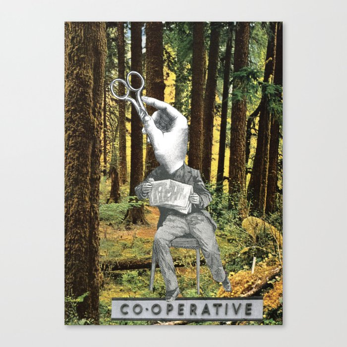 Co-Operative # 77 Canvas Print