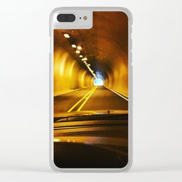 Trippin to Cannon Beach Oregon Clear iPhone Case