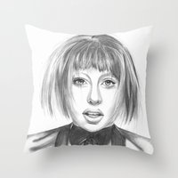 artpop Throw Pillows featuring ARTPOP by ArtLm