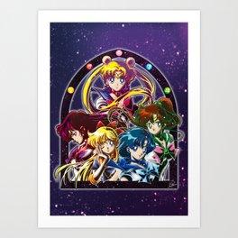 Sailor Moon S (Universe edit.) Art Print
