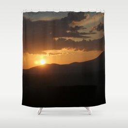 Smith Rock Sunrise Shower Curtain