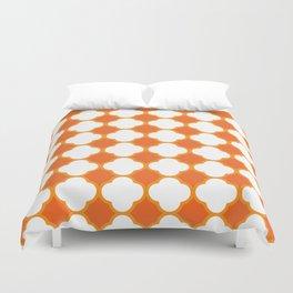 Orange Pattern Duvet Cover