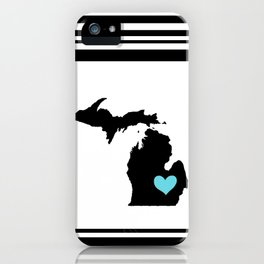 Home Is Where The Heart Is. iPhone Case