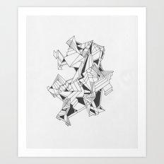 Art of Geometry 4 Art Print