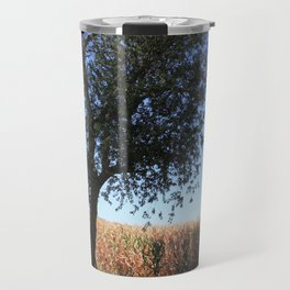 Corn Field in the Midwest Travel Mug