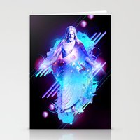 christ Stationery Cards featuring Cosmic Christ by Matt Bryson