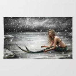 Winter Mermaid Rug