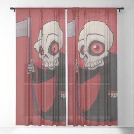 Little Reaper Sheer Curtain