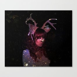 The Sparkling Stag Canvas Print