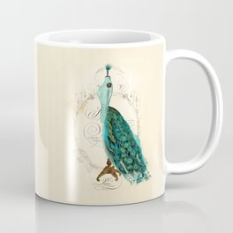 Peacock bustle mannequin Coffee Mug