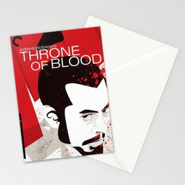 Throne Of Blood Stationery Cards