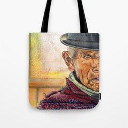 Abstract Man Tote Bag