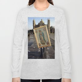 Guadalupe pilgrim Long Sleeve T-shirt