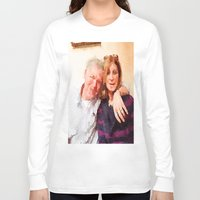 karen Long Sleeve T-shirts featuring Mike and Karen by Jose Luis