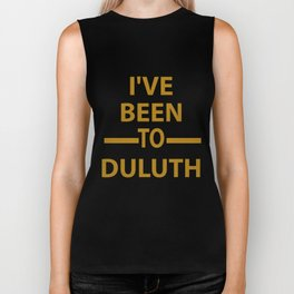 Ive Been to Duluth T-shirt from Scarebaby Design Biker Tank