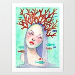 Coralie Art Print