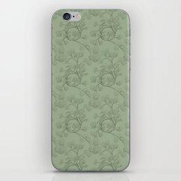 The Night Gardener - Endpapers iPhone Skin