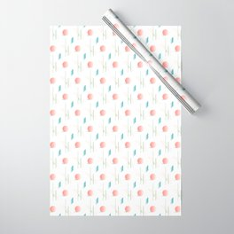 Swimming Pools and Coral Suns Wrapping Paper