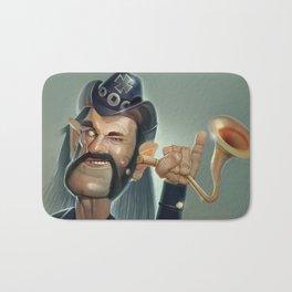 Lemmy hearing aid Bath Mat
