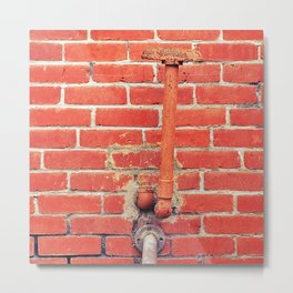 Brick by brick , another pipe dream unfolds Metal Print