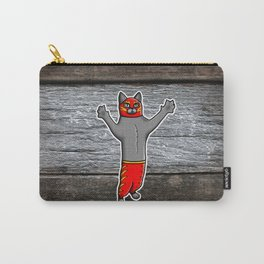 Gato Luchador - Cat Luchadore - Wrestler Kitty Carry-All Pouch