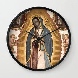 Virgin of Guadalupe, 1700 Wall Clock