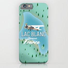 Lac Blanc,Chamonix, france iPhone Case