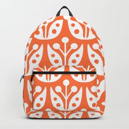 Mid Century Flower Pattern 4 Backpack