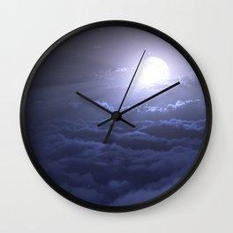 Moonbeam Sea Wall Clock