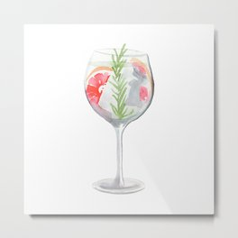 Cocktail no 6 Metal Print