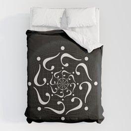 Conundrum Vortex Inverted Comforters