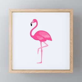 Flamingo Framed Mini Art Print