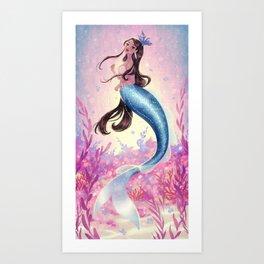 Spring Siren Art Print