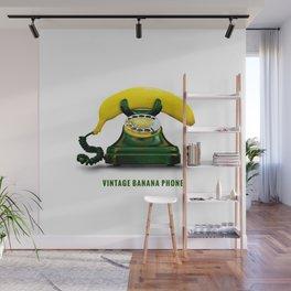 ORGANIC INVENTIONS SERIES: Vintage Banana Phone Wall Mural